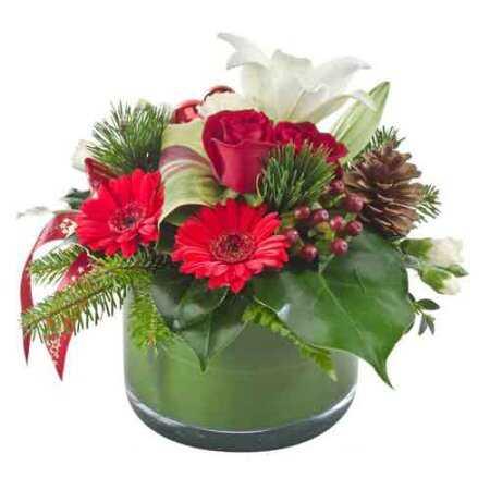 Шишки, хвоя и цветы